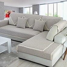 Leinen-sofa-matte Stoffe Ländlichen Sofa Setzt