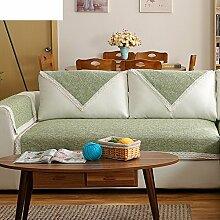 Leinen Sofas Serviette/Stoff rutschfeste Leinen Sofa Handtuch-K 70x70cm(28x28inch)