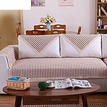 Leinen Sofas Serviette/Stoff rutschfeste Leinen Sofa Handtuch-J 90x160cm(35x63inch)