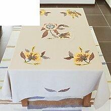 Leinen Tischdecke/Tischdecken/ Taro TV