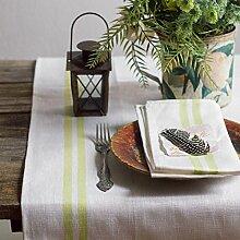 Leinen Tischläufer - Läufer - Tischband -