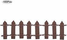 Leinggg Mini Fence100Pcs Mini Garden Decor