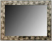 Leinwände Levante DA2100–7–Spiegel Deko Bad/Flur, 114x 74cm, Schwarz und Silber