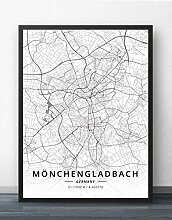 Leinwand Bild,Deutschland Mönchengladbach