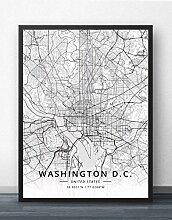 Leinwand Bild,Washington Dc Vereinigte Staaten