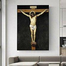 Leinwand Druck Plakat Christus Gekreuzigte