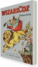 Leinwandbbild The Wizard of Oz, Retro-Werbung East