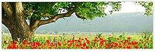 Leinwandbild 145x45 cm - Top - Wandbild XXL