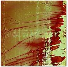 Leinwandbild Abstrakte Gemälde East Urban Home