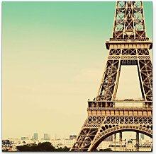LeinwandbildAusschnitt des Eiffelturm East Urban