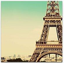 LeinwandbildAusschnitt des Eiffelturm