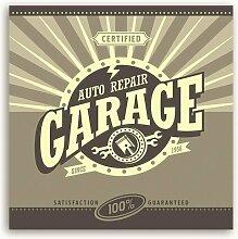 Leinwandbild Auto Repair Garage