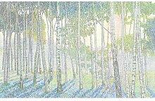Leinwandbild Birkenwald Maison Alouette Größe: