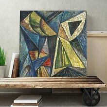 """Leinwandbild """"Black Triangle"""" von Alexander"""