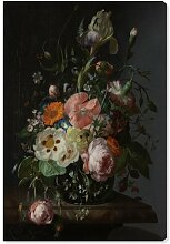 Leinwandbild Blumengesteck IV East Urban Home