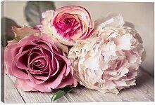 Leinwandbild Blumenstrauß Lily Manor