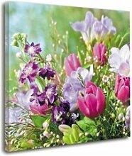 Leinwandbild Blumenstrauß