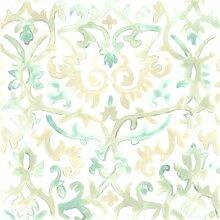 Leinwandbild Bohemian Textile IV von June Erica