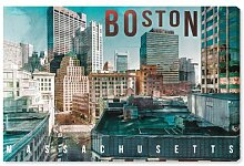 Leinwandbild Boston Landschaft