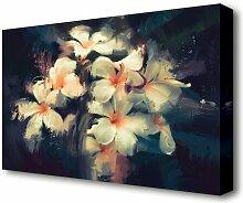 Leinwandbild Bouquet of Beauty Flowers East Urban