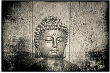 Leinwandbild Buddha-Bild ModernMoments Größe: