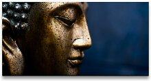 Leinwandbild Buddha-Figur East Urban Home