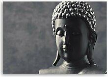 Leinwandbild Buddha-Statue Sansibar Home