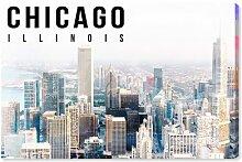 Leinwandbild Chicago Landschaft
