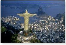 LeinwandbildChristus Statue in Rio de Janeiro