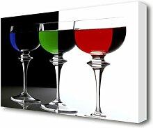 Leinwandbild Cocktail Party Kitchen