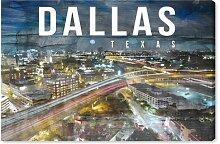 Leinwandbild Dallas Landschaft