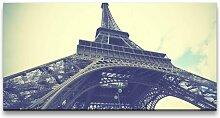 Leinwandbild Eiffelturm Fotodruck East Urban Home