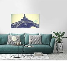 Leinwandbild Eiffelturm Fotodruck