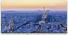 Leinwandbild Eiffelturm in Frankreich East Urban