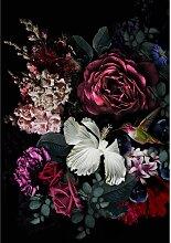 Leinwandbild Flowers I, 70 x 100 cm