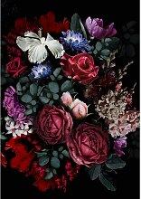 Leinwandbild Flowers II, 70 x 100 cm