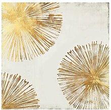 Leinwandbild Gold Star II von PI Galerie Canora