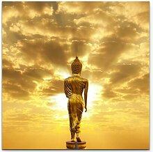 LeinwandbildGoldener Buddha in Thailand East