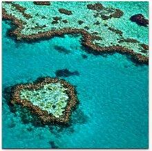 LeinwandbildGreat Barrier Reef Australien East