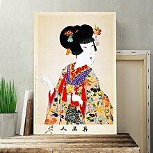 Leinwandbild Japanese Oriental True Beauty