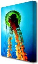 Leinwandbild Jellyfish Beauty East Urban Home