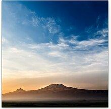 LeinwandbildKilimanjaro bei Sonnenaufgang