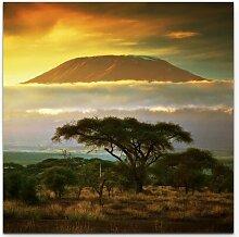 LeinwandbildLandschaft Kilimanjaro in Afrika