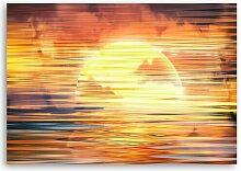 Leinwandbild Magischer Sonnenuntergang