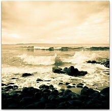 Leinwandbild Meerblick von der Noosa Küste –
