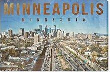 Leinwandbild Minneapolis Landschaft