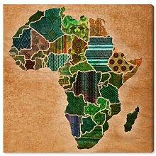 Leinwandbild Mutter Afrika East Urban Home