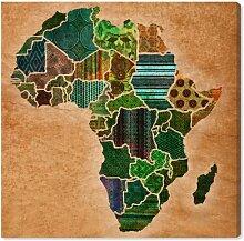 Leinwandbild Mutter Afrika