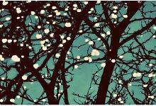 Leinwandbild Nachtlichter 2, Grafikdruck