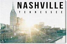 Leinwandbild Nashville Landschaft